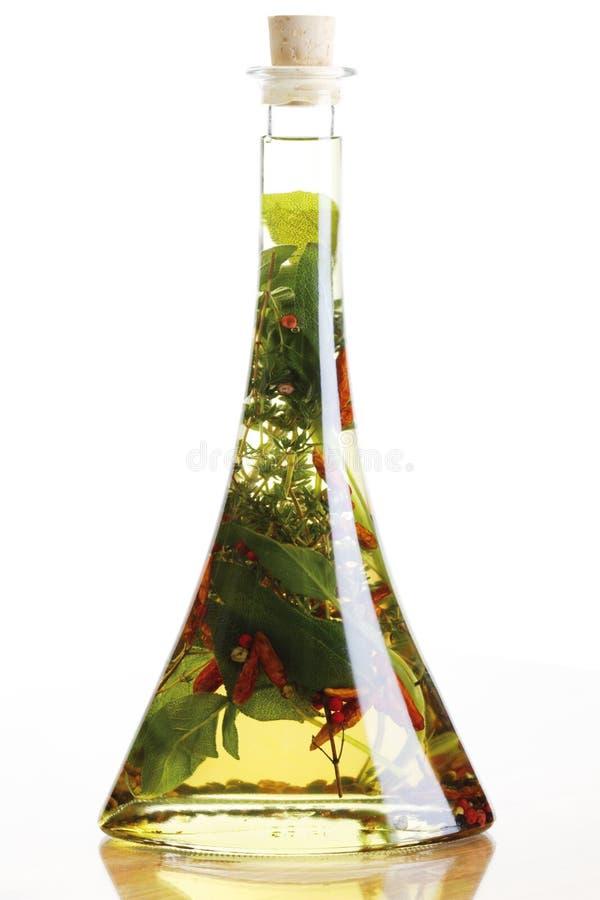 Doprawiający olej obrazy stock