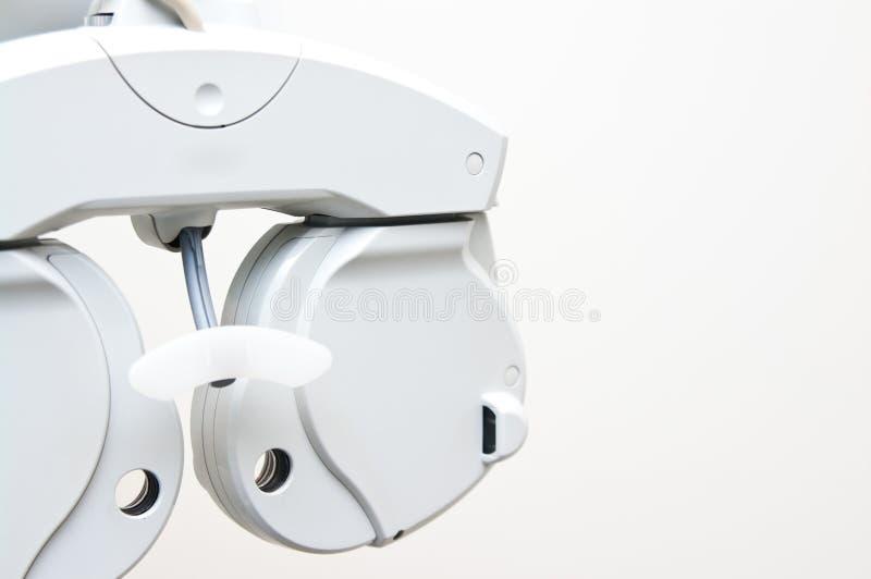 Dopter moderno dell'optometrista fotografia stock