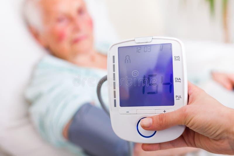 Dopuszczalny Systolic ciśnienie krwi zdjęcie stock