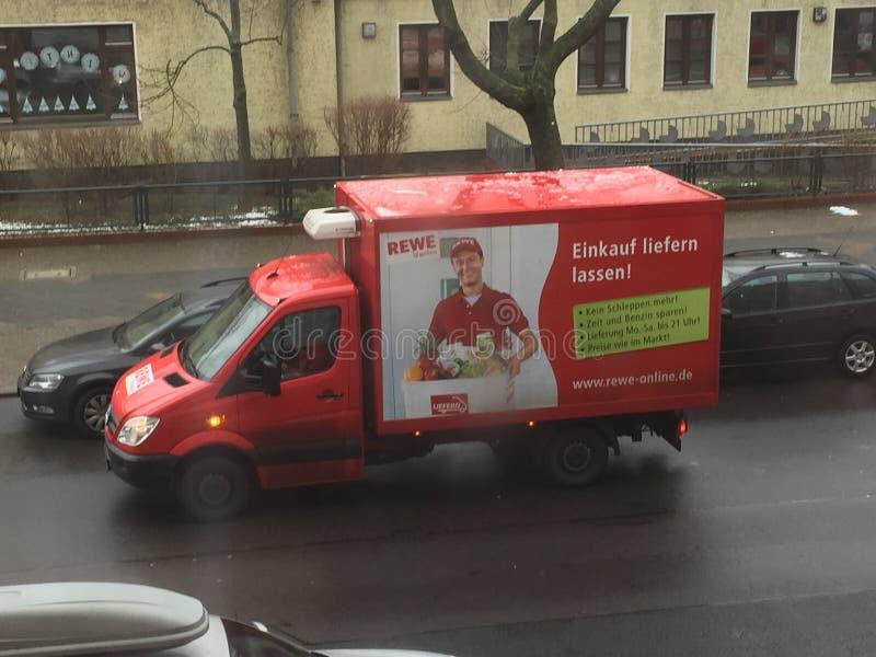 Doręczeniowa ciężarówka zdjęcia stock