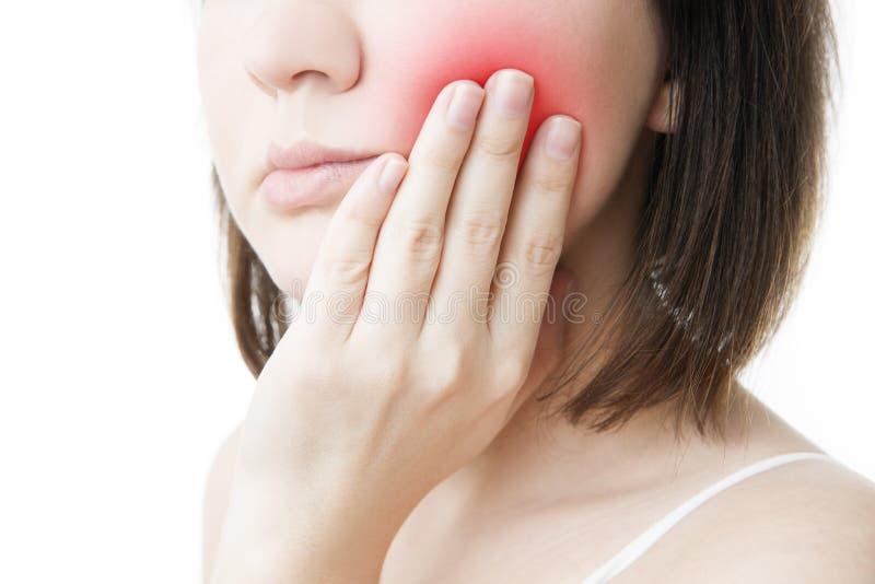 Dor de dente imagens de stock