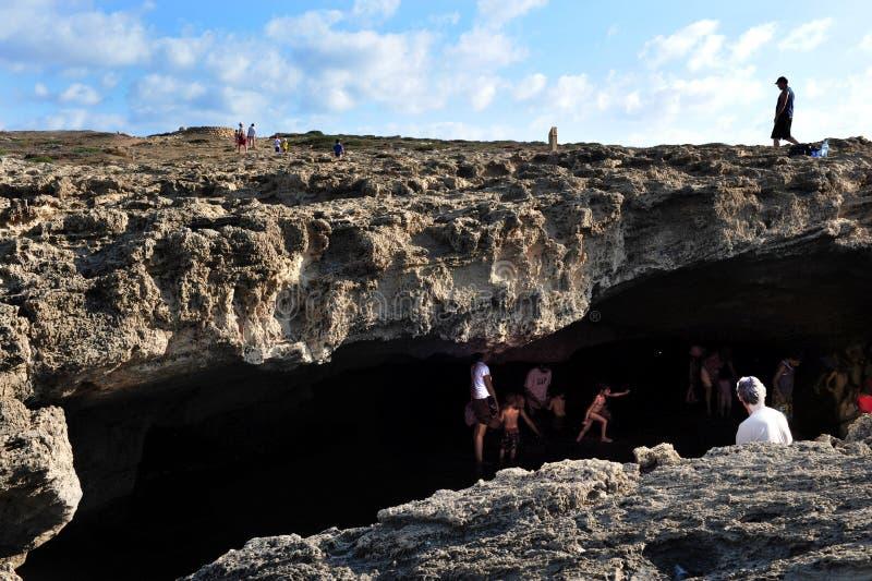 Dor Habonim Beach - Israel fotos de archivo