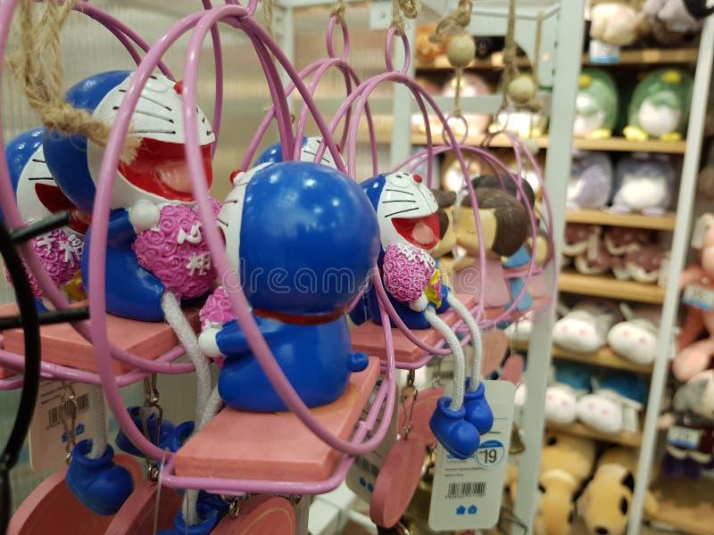 Doraemon玩具 图库摄影
