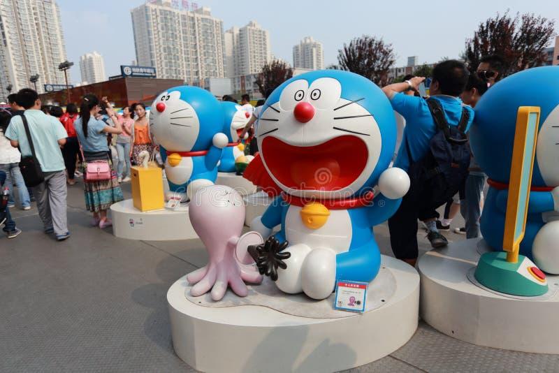 Doraemon Exhibition Editorial Photo