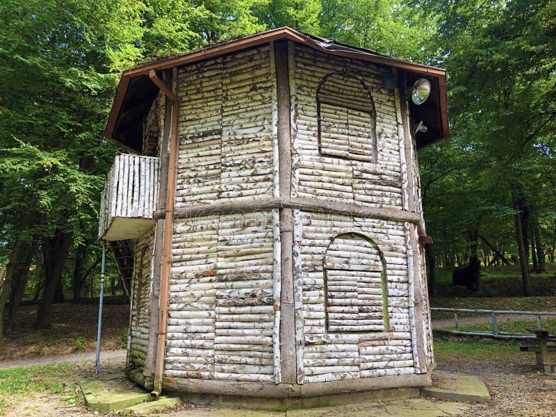 Doras pavilion or Dorin Paviljon - Nasice, Croatia stock photo