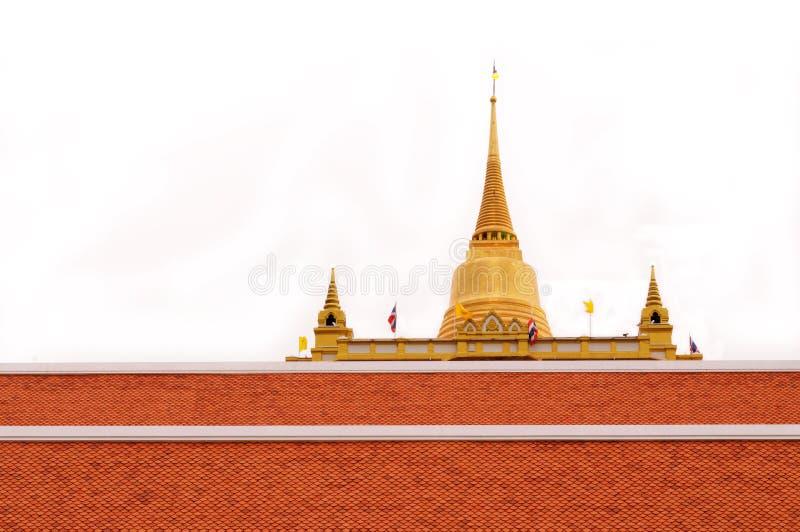 Dorato-bocca Bangkok immagine stock libera da diritti