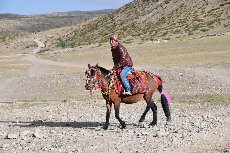 Dorchen, Tybet, Chiny E zdjęcie stock