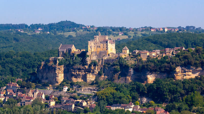 Download Dordogne stock photo. Image of medieval, europe, fortress - 20073020