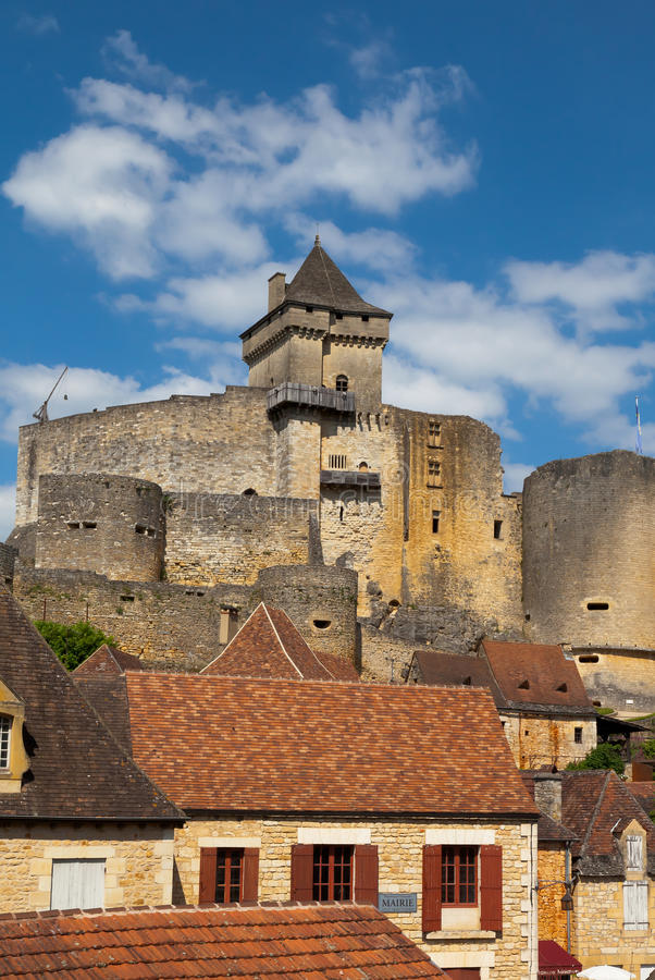 Download Dordogne stock image. Image of patrimony, fortification - 20074611