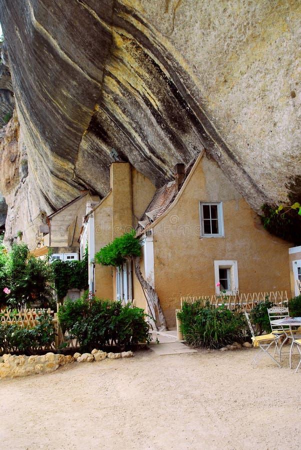 Dordogne jaskiniowy France zdjęcie royalty free