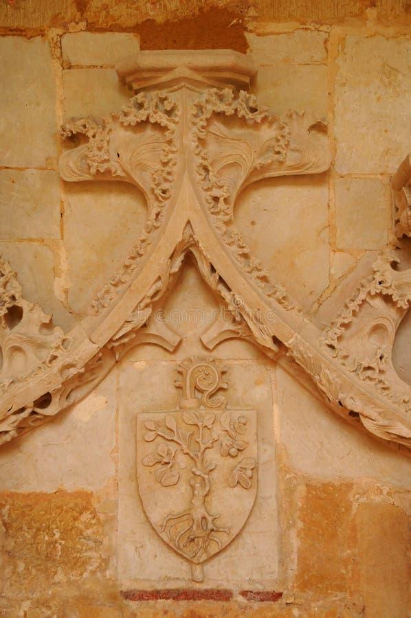 Dordogne, l'abbaye de Cadouin dans Perigord image stock