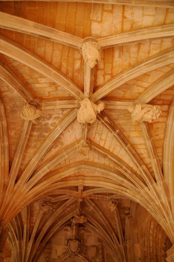 Dordogne, l'abbaye de Cadouin dans Perigord photo libre de droits
