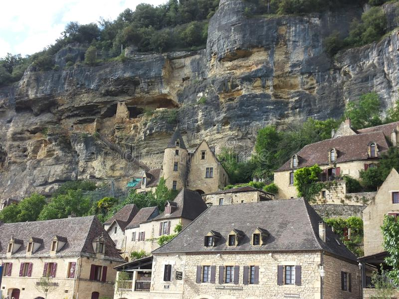 Download Dordogne stock photo. Image of village, mountain, rocky - 42855626