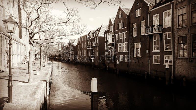 Dordrecht Netherlands. Scene from the city Dordrecht in the Netherlands stock images