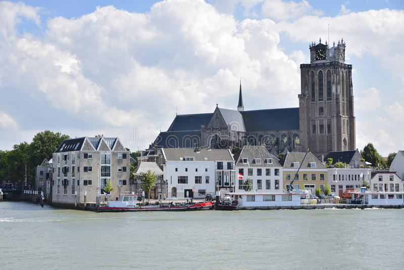 Dordrecht ou Dort, os Países Baixos foto de stock royalty free