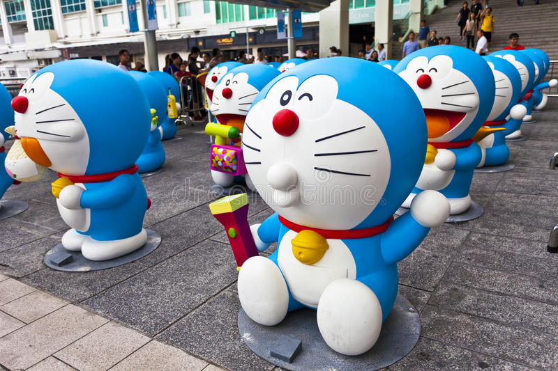 Download Doreamon Exhibition In Hong Kong Editorial Photography - Image: 26653677