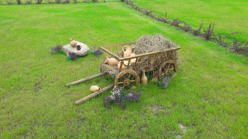 Download Dorf stockfoto. Bild von wagen, dorf, landschaft, auslegung - 96926094