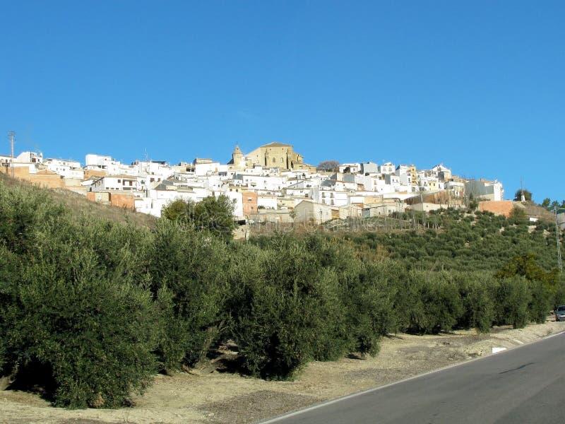 Dorf Chiclana De Segura in Jaen, Andalusien spanien lizenzfreie stockbilder