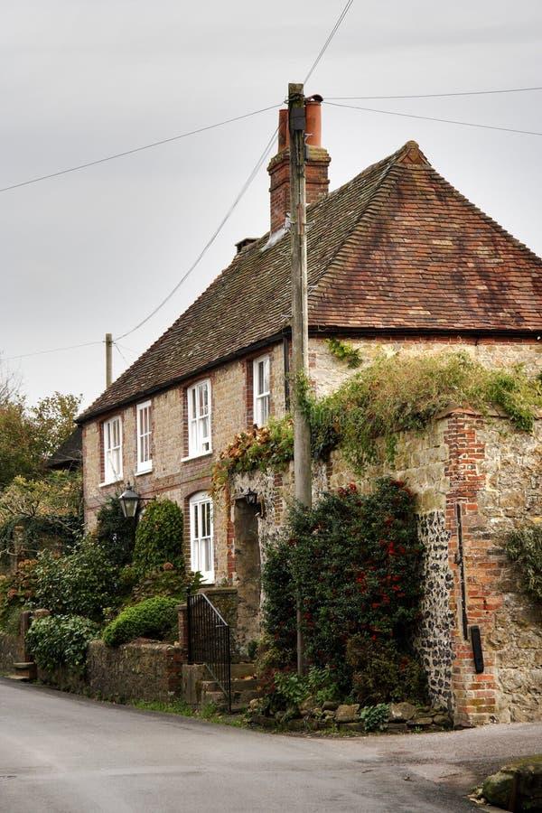 Dorf-Haus lizenzfreie stockfotos