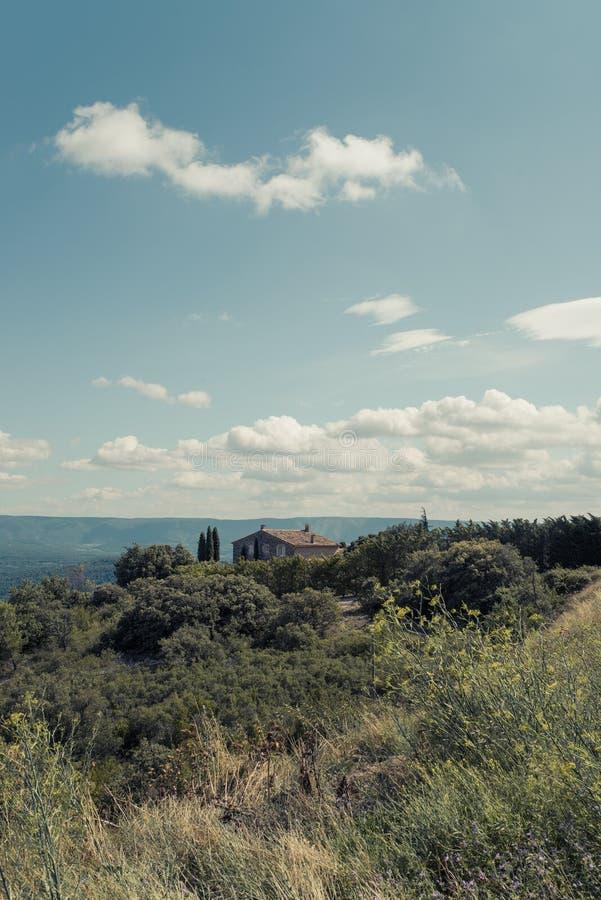 Dorf in Provence lizenzfreies stockbild