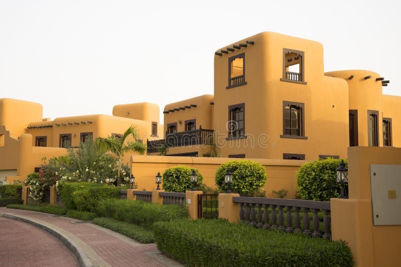 Dorf-Sand-Haus, Dubai, Apr 2017 lizenzfreie stockfotografie