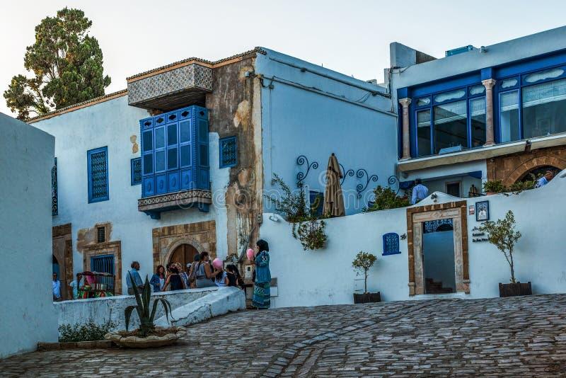 Dorf in Tunesien lizenzfreie stockfotografie
