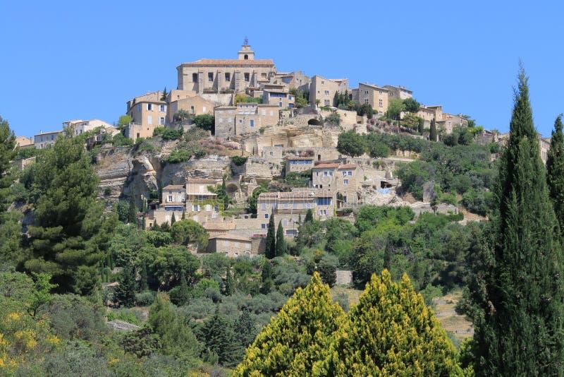 Dorf von Gordes in Frankreich lizenzfreie stockfotografie