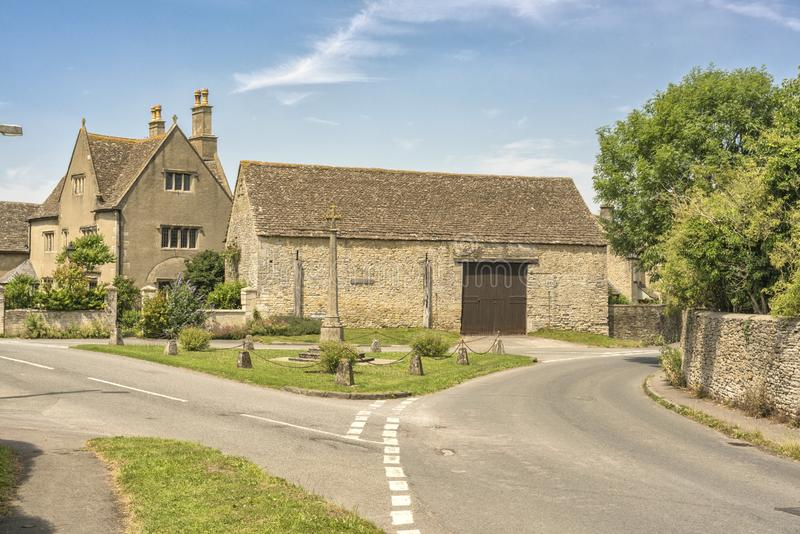 Dorf von Hillesley in Gloucestershire lizenzfreies stockbild