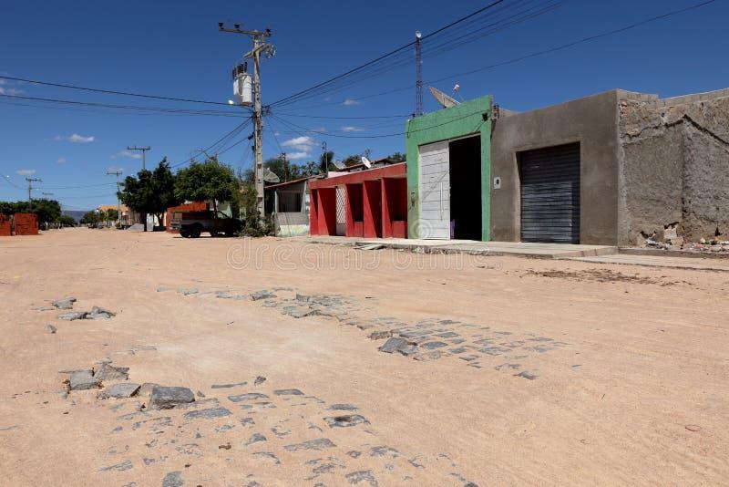 Dorf von Queixo Dantas in Brasilien lizenzfreie stockfotografie