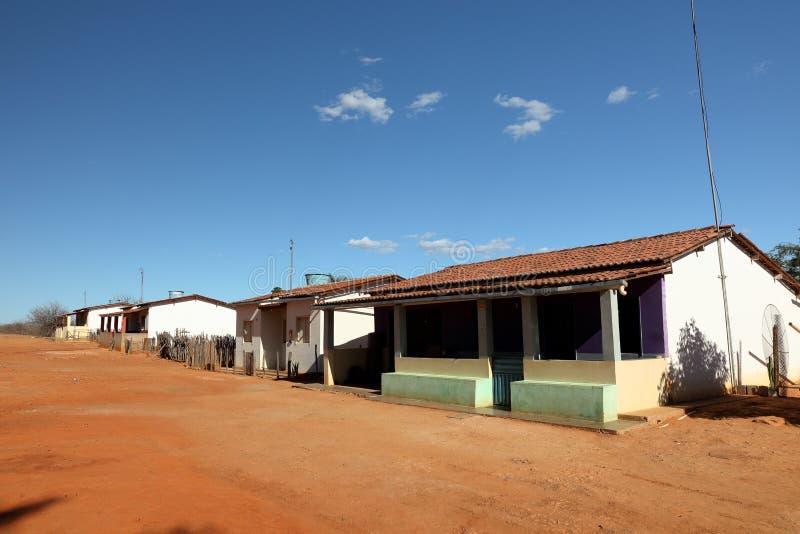 Dorf von Queixo Dantas in Brasilien stockfoto