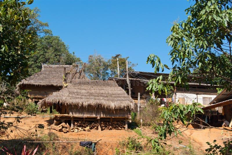 Dorfhäuser lizenzfreies stockfoto