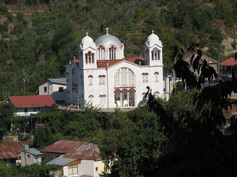 Dorfkirche stockfotografie