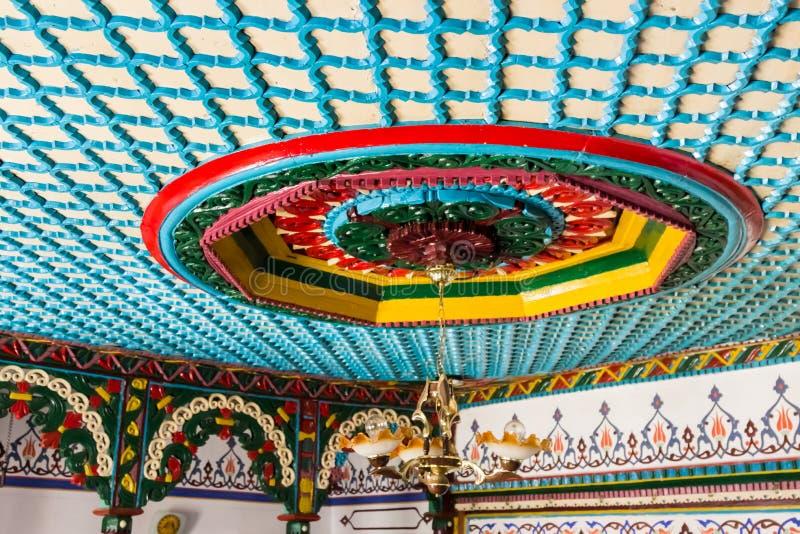 Dorfräume Gumushane Saricicek, ein populäres Haus für seine hölzernen Dekorationen lizenzfreie stockbilder
