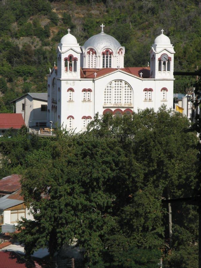 Dorftempel stockbilder