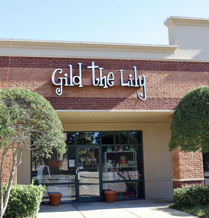 Dori Lily Boutique, Memphis, TN immagini stock libere da diritti