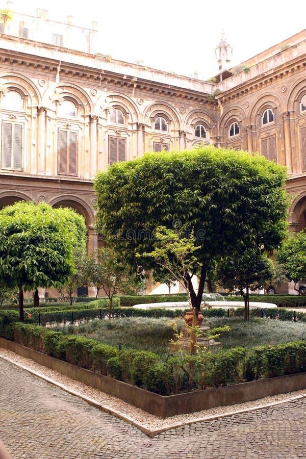 Doria Pamphilj Gallery Palace Rome Italia fotografie stock