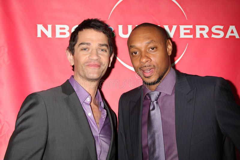 Dorian Missick, James Frain fotos de archivo
