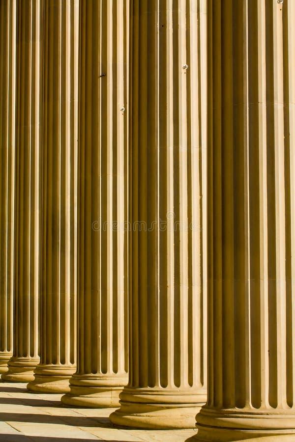 doric kolonner arkivfoto