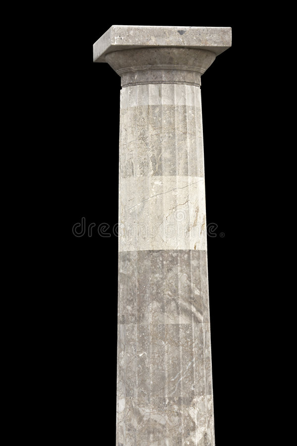A doric order column royalty free stock photography