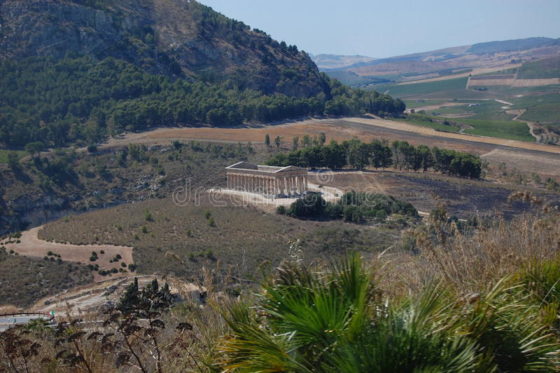 Download The Doric Temple At Segesta, Sicily Stock Photo - Image: 21401008
