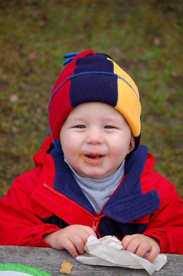 Dorito Boy stock photo