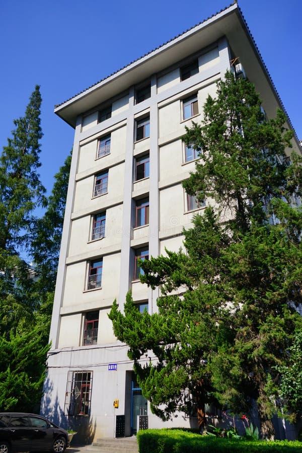 Dorm för Nanjing universitet fotografering för bildbyråer