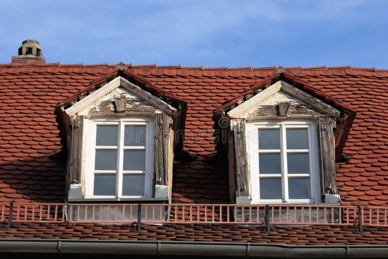 dormer nowego stary okno obrazy royalty free