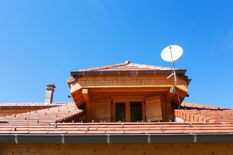Download Dormer roof window stock image. Image of window, building - 34029923