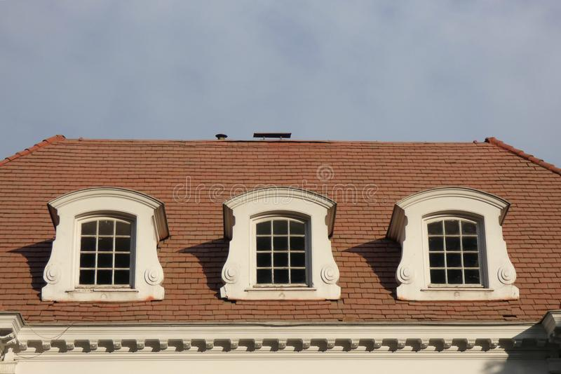 Dormer Windows stock photography