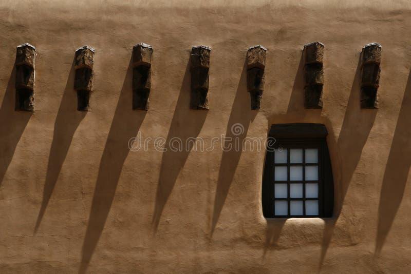 Dormers barrados estilo do povoado indígeno imagem de stock