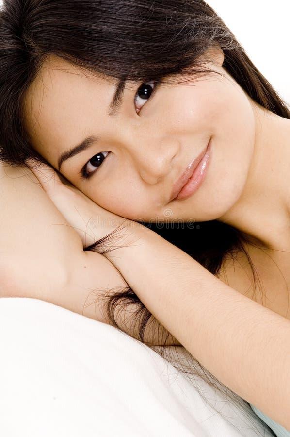 Dormeur heureux photos stock