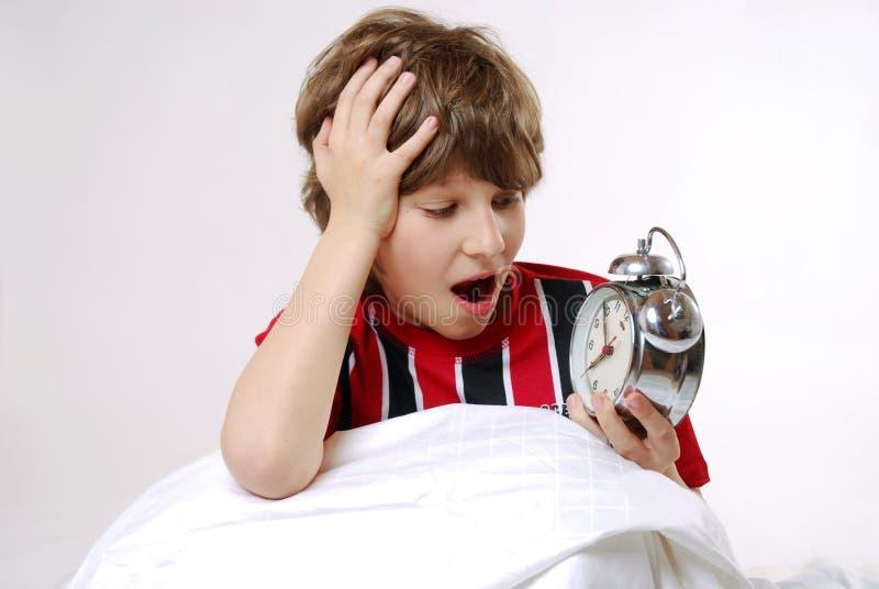 Dormez trop longtemps images stock