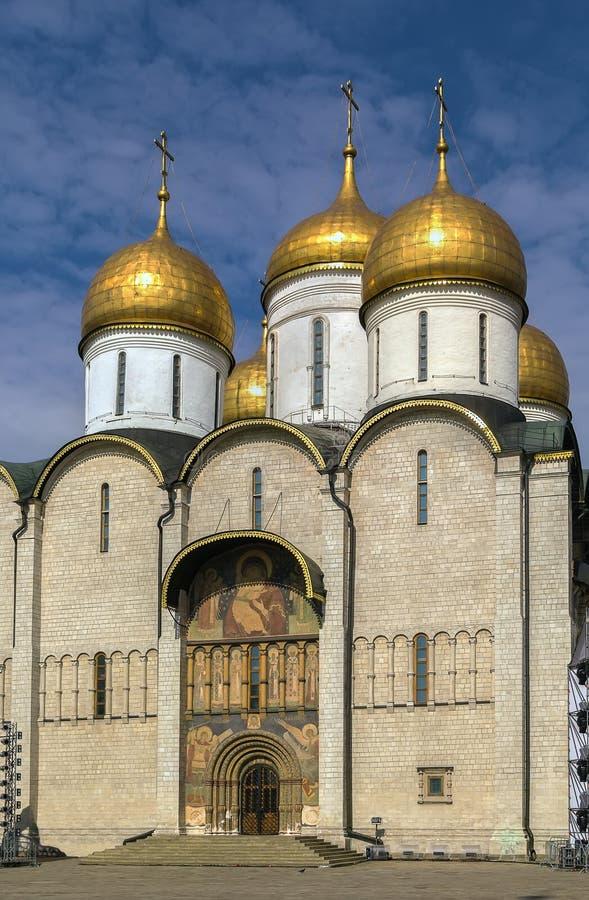 Dormition大教堂,莫斯科 库存照片