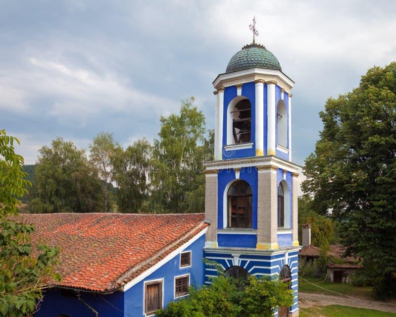 Dormition da igreja de Theotokos foto de stock